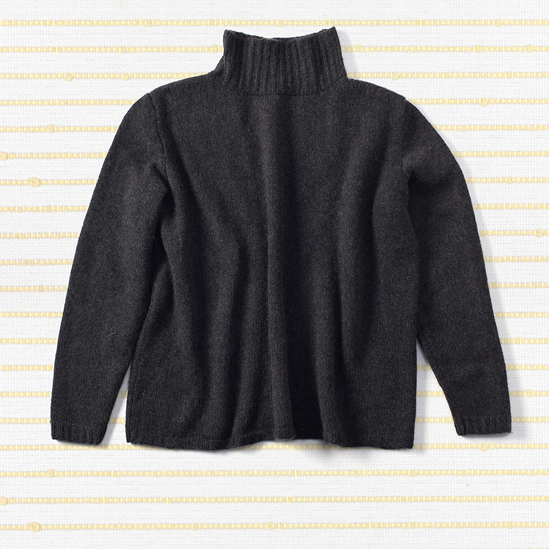 Hand knit sloppy jo <span>100% cashmere</span>
