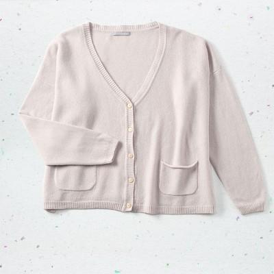 Boxy jacket, <span>100% cashmere</span>