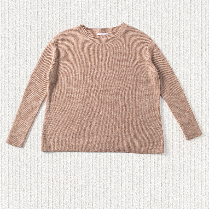Long rib sweater, <span>100% cashmere</span>