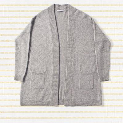 Open rib cardigan, <span>100% cashmere</span>