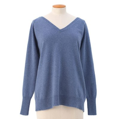 Laurie V-neck sweater  <span>100% cashmere</span>