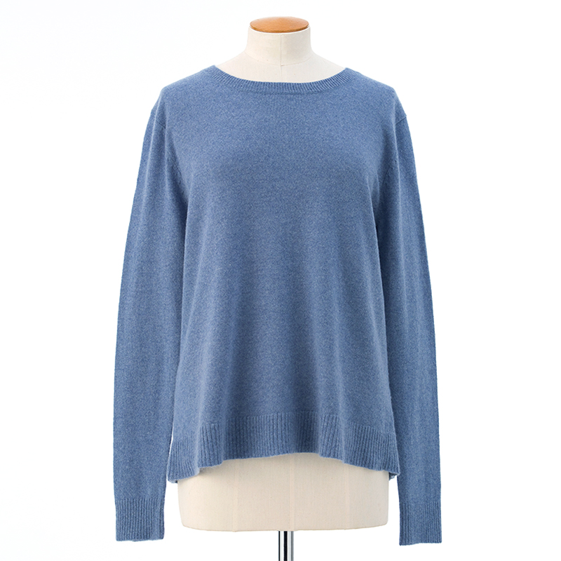 Scoop neck sweater  <span>100% cashmere</span>