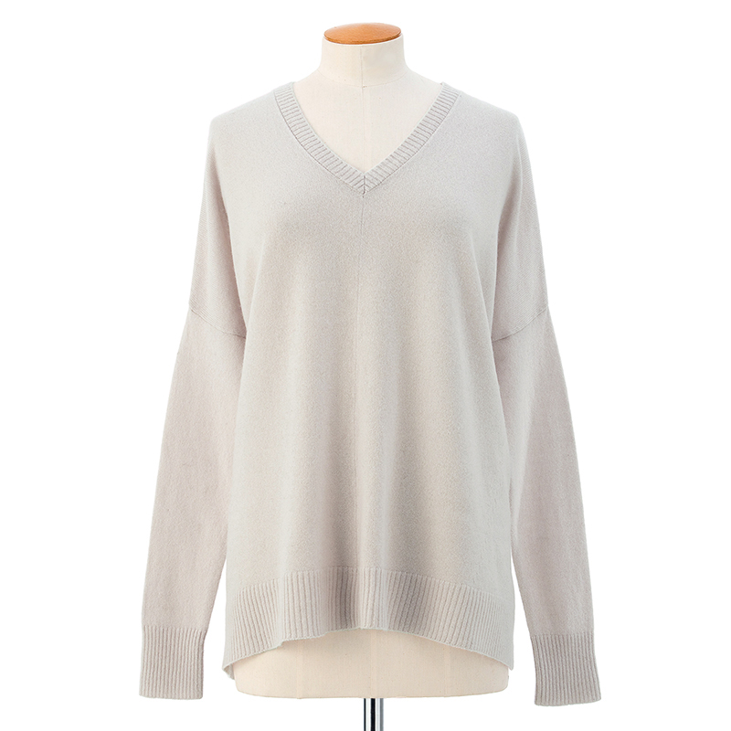 Longer slouchy sweater  <span>100% cashmere</span>