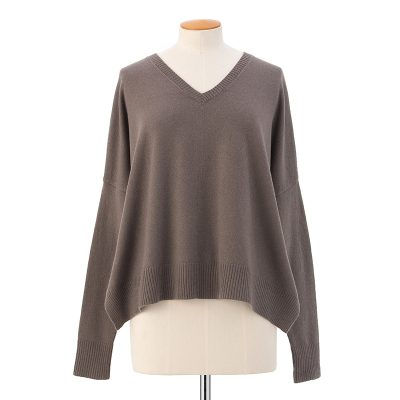 Wide body pullover  <span>100% cashmere</span>