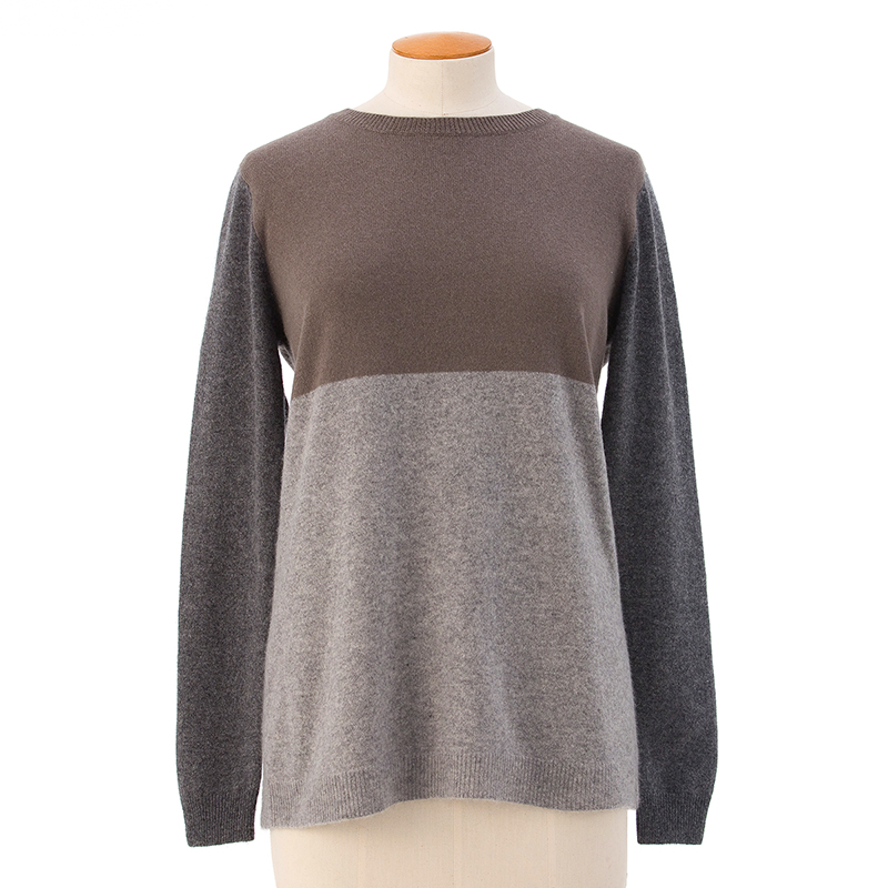 Three colour sweater  <span>100% cashmere</span>