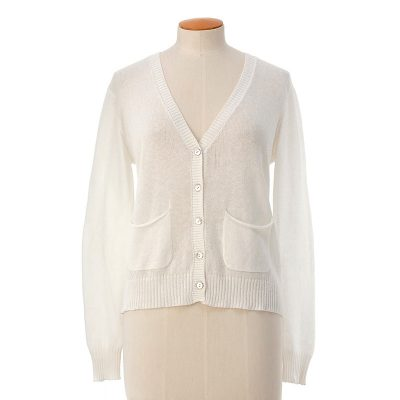 Pockets cardigan <span>cotton cashmere</span>