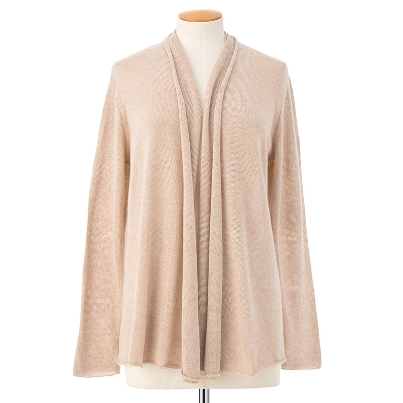 Shorter Tara cardigan <span>cotton cashmere</span>