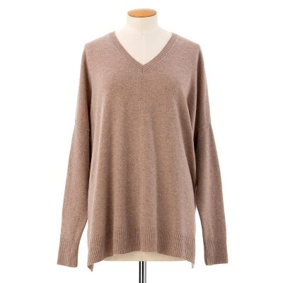 Long slouchy sweater<span>100% cashmere</span>