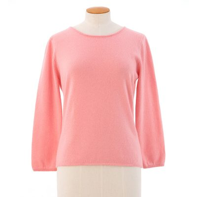 Three quater sleeve sweater<span>100% cashmere</span>