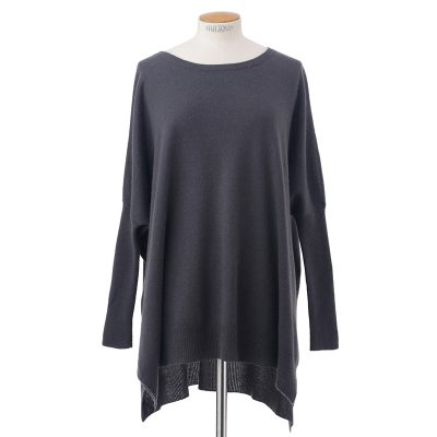 Side slit sweater<span>100% cashmere</span>