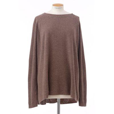 Rib sweater<span>100% cashmere</span>