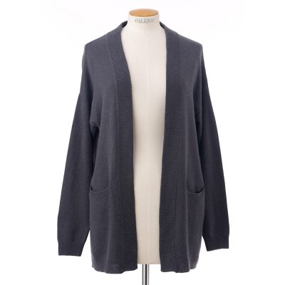 Open rib cardigan<span>100% cashmere</span>