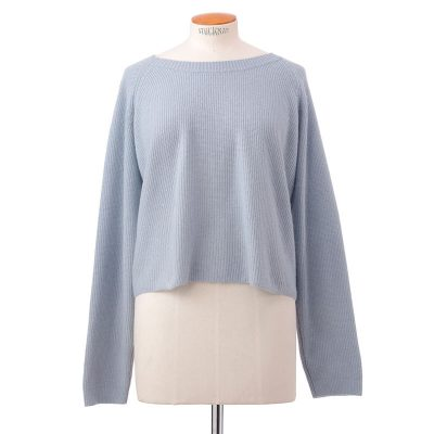 Short rib sweater<span>100% cashmere</span>