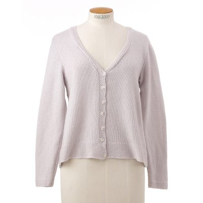 Hand knit cardigan<span>100% cashmere</span>