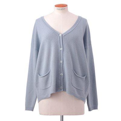 Boxy jacket<span>100% cashmere</span>