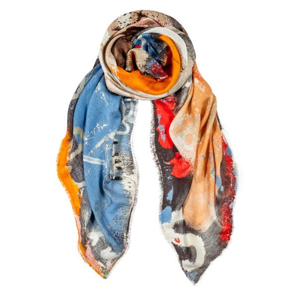 cashmere art scarf