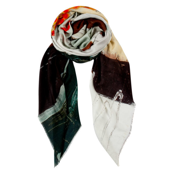 Oleana Urban Abstract Scarf