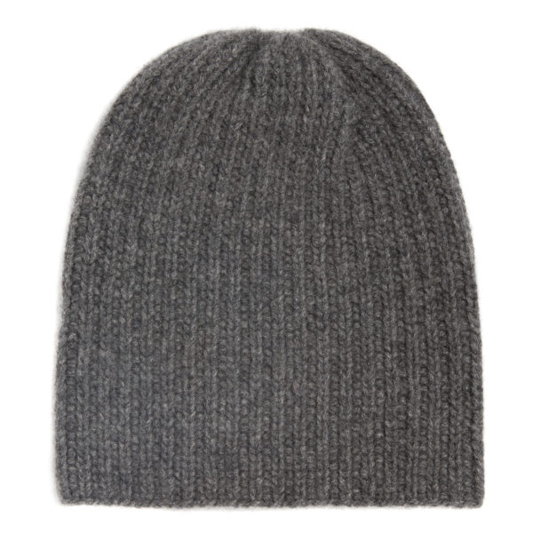 Hand-Knitted Cashmere Hat